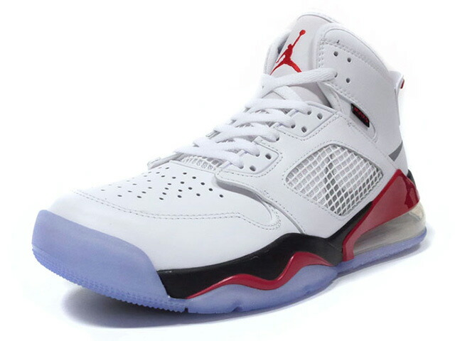 "JORDAN BRAND JORDAN MARS 270 ""FIRE RED""  WHITE/REFLECT SILVER-FIRE RED/BLANC/ROUGE FEU/REFLET ARGENT (CD7070-100)"