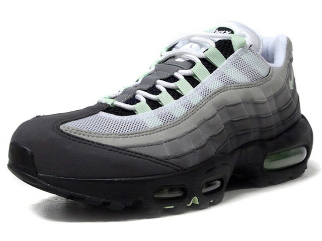 "NIKE AIR MAX 95 ""FRESH MINT"" ""LIMITED EDITION for NSW""  GRY/WHT/BLK/M.GRN (CD7495-101)"