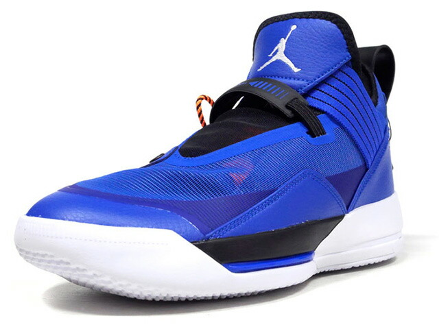 "JORDAN BRAND AIR JORDAN XXXIII SE PF ""MICHAEL JORDAN"" ""LIMITED EDITION for JORDAN BRAND""  HYPER ROYAL/WHITE/BLACK/ROYAL HYPER/NOIR/BLANC (CD9561-401)"