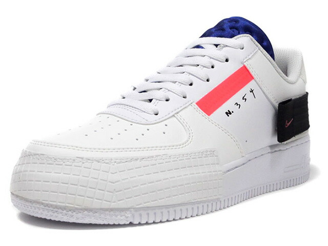 "NIKE AF1-TYPE ""N.354"" ""LIMITED EDITION for NSW""  SUMMIT WHITE/RED ORBIT/WHITE/BLANC SOMMET/ROUGE ORBITAL (CI0054-100)"