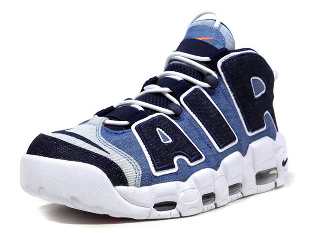 "NIKE AIR MORE UPTEMPO '96 QS ""DENIM"" ""LIMITED EDITION for NSW""  WHITE/OBSIDIAN/TOTAL ORANGE/BLANC/ORANGE TOTAL/OBSIDIENNE (CJ6125-100)"