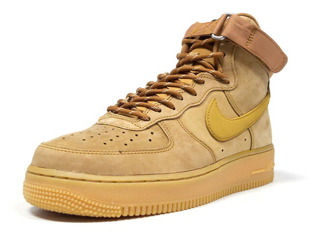 "NIKE AIR FORCE 1 HIGH '07 WB ""WHEAT PACK"" ""LIMITED EDITION for NSW""  FLAX/WHEAT-GUM LIGHT BROWN/LIN/BRUN CLAIR GOMME/BLEAT (CJ9178-200)"