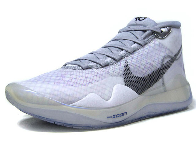 """NIKE ZOOM KD12 NRG EP """"KEVIN DURANT"""" """"LIMITED EDITION for NSW""""  WHITE/BLACK/WOLF GREY/BLANC/GRIS LOUP/NOIR (CK1197-101)"""