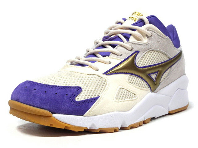 "MIZUNO SKY MEDAL ""FOOTPATROL"" ""LIMITED EDITION for KAZOKU"" WHT/GLD/PPL/GUM (D1GD183052)"