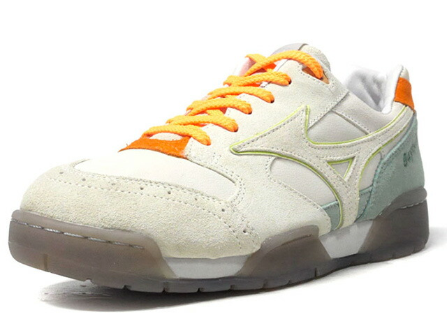 "MIZUNO COURT SELECT ""SAYHELLO"" ""LIMITED EDITION for KAZOKU""  BGE/M.GRN/ORG/GUM (D1GD192902)"