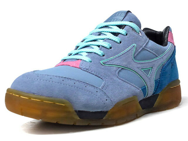 "MIZUNO COURT SELECT ""SAYHELLO"" ""LIMITED EDITION for KAZOKU""  BLU/NVY/PNK/GUM (D1GD193021)"