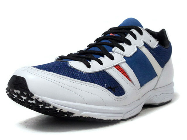 "MIZUNO WAVE EMPEROR F ""FUTUR"" ""LIMITED EDITION for KAZOKU""  WHT/D.BLU/ORG/BLK (D1GD193321)"