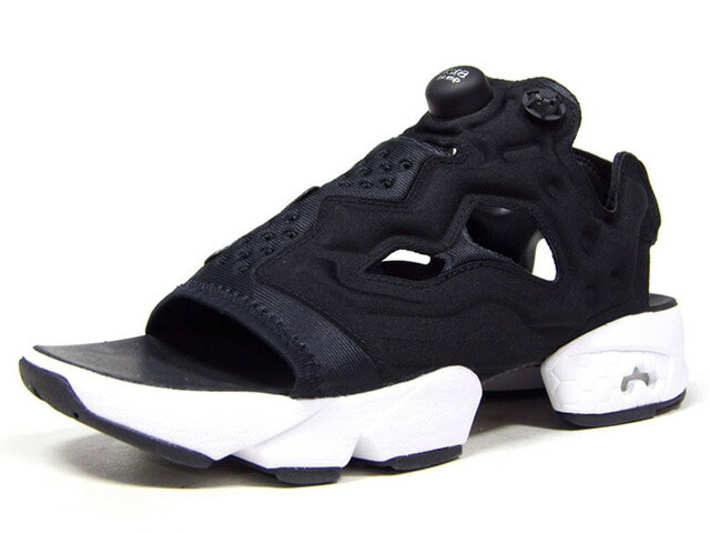 "Reebok INSTAPUMP FURY SANDAL ""INSTAPUMP FURY 25th ANNIVERSARY"" ""LIMITED EDITION""  BLK/WHT (DV9699)"