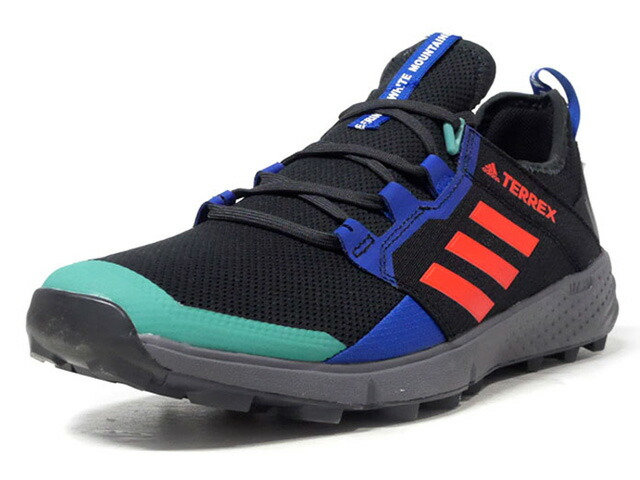 "adidas WM TERREX AGRAVIC SPEED ""White Mountaineering""  BLK/BLU/RED/E.GRN/WHT/GRY (EE3912)"