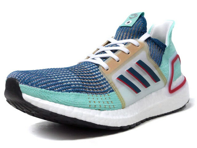 "adidas ULTRABOOST 19 CONSORTIUM ""ASIA"" ""LIMITED EDITION for CONSORTIUM""  E.GRN/NVY/GLD/RED/WHT (EE7516)"