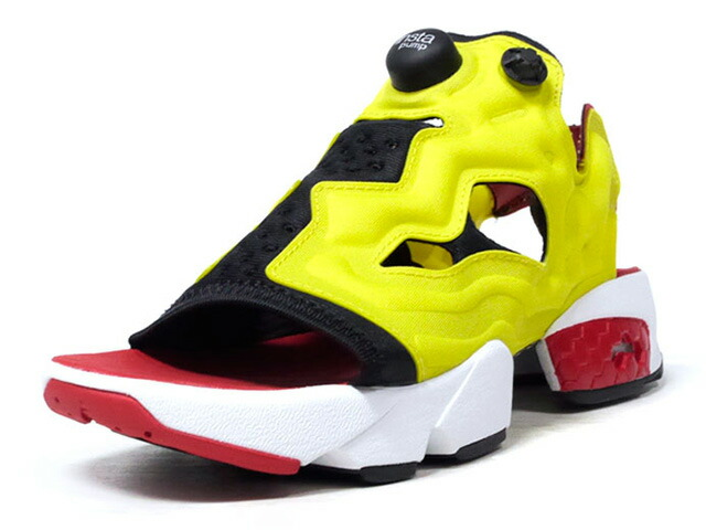 "Reebok INSTAPUMP FURY SANDAL ""CITRON"" ""INSTAPUMP FURY 25th ANNIVERSARY"" ""LIMITED EDITION""  CITRON (EF2922)"