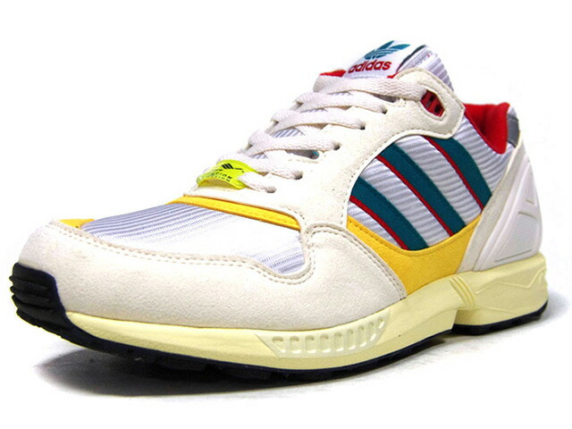 "adidas ZX6000 ""TORSION 30th ANNIVERSARY"" ""LIMITED EDITION for CONSORTIUM""  SLV/NAT/YEL/E.GRN/RED/BLK (FU8405)"