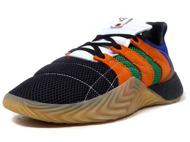 "adidas SOBAKOV BOOST ""SIVASDESCALZO"" ""LIMITED EDITION for CONSORTIUM""  BLK/ORG/GRN/BLU/WHT/GUM (G26281)"