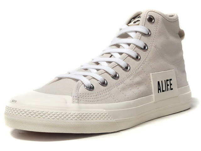 "adidas NIZZA HI RF ""ALIFE"" ""LIMITED EDITION for CONSORTIUM""  O.WHT/WHT/BLK (G27820)"