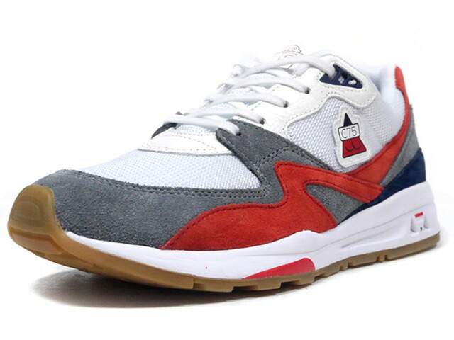 "le coq sportif LCS R 800 ""CLUB 75"" ""LIMITED EDITION for SELECT""  WHT/GRY/RED/NAV/GUM (QL1OGC22WH)"