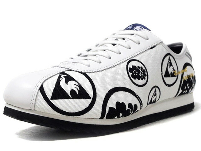 "le coq sportif MONTPELLIER.JP ""made in JAPAN"" ""SO-SU-U"" ""KAMON"" ""LIMITED EDITION for SELECT""  WHT/BLK//GLD/NVY (QY1NJC02KA)"