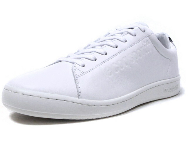 """le coq sportif BLAZON SPORT """"made in FRANCE"""" """"BLAZON SPORT PACK/BOXING"""" """"LIMITED EDITION for SELECT""""  WHT/BLK (1921475)"""