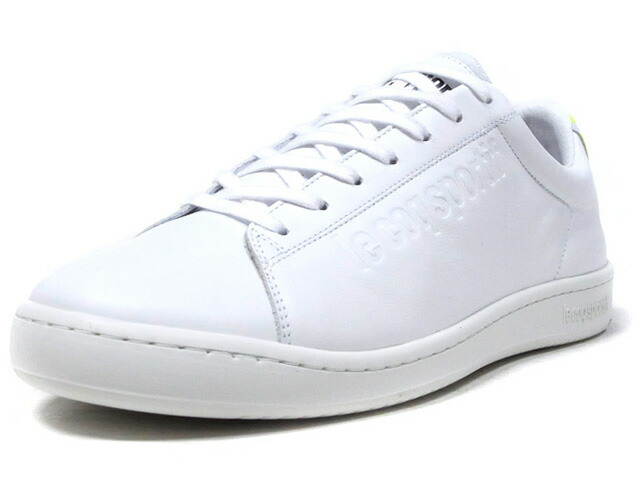 """le coq sportif BLAZON SPORT """"made in FRANCE"""" """"BLAZON SPORT PACK/TENNIS"""" """"LIMITED EDITION for SELECT""""  WHT/N.YEL (1921476)"""