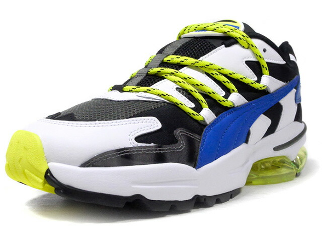 "Puma CELL ALIEN ""LES BENJAMINS"" ""LIMITED EDITION for LIFESTYLE""  WHT/BLK/BLU/N.YEL (370041-01)"