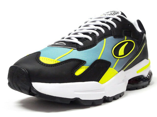 "Puma CELL ULTRA FADE ""LIMITED EDITION for LIFESTYLE""  BLK/N.YEL/L.GRN/WHT (370851-01)"