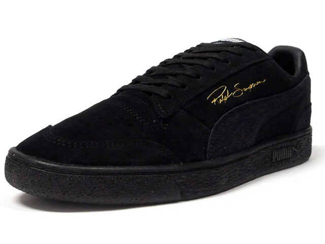 "Puma RALPH SAMPSON LO REPTILE ""RALPH SAMPSON"" ""LIMITED EDITION for ARCHIVE""  BLK/GLD (370966-01)"