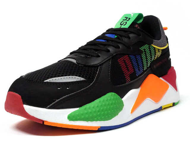 "Puma RS-X BOLD ""LIMITED EDITION for LIFESTYLE""  BLK/N.GRN/BLU/YEL/RED/ORG (372715-01)"