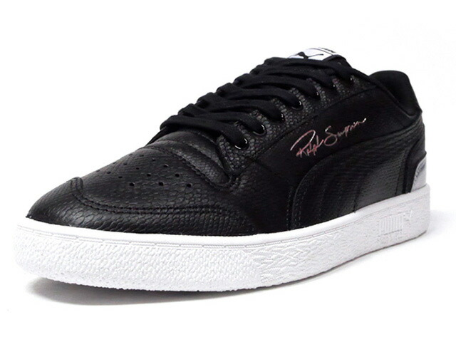 "Puma RALPH SAMPSON LO ""RUN THE FLOOR""  BLK/WHT (373125-01)"