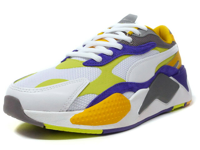 "Puma RS-X LEVEL UP ""LIMITED EDITION for LIFESTYLE""  WHT/PPL/N.GRN/YEL/C.GRY (373169-01)"
