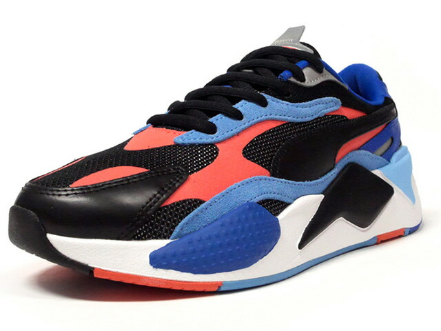"Puma RS-X LEVEL UP ""LIMITED EDITION for LIFESTYLE""  BLK/SAX/BLU/N.RED/WHT (373169-02)"