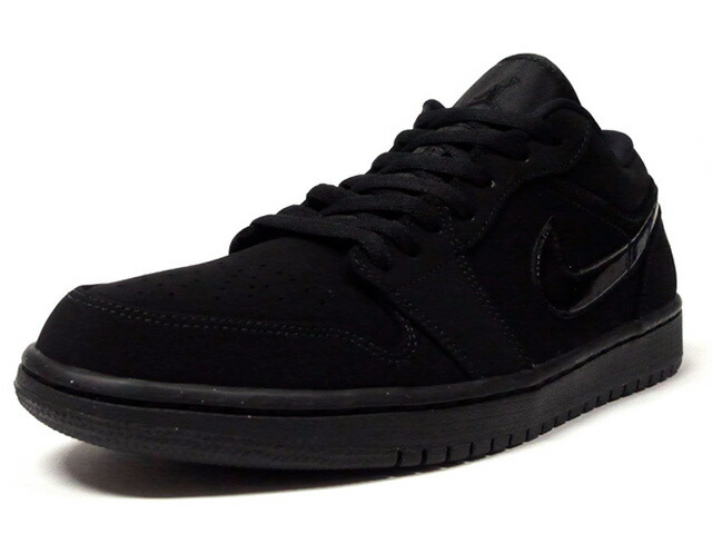 "JORDAN BRAND AIR JORDAN 1 LOW ""MICHAEL JORDAN"" ""LIMITED EDITION for JORDAN BRAND""  BLACK/BLACK/BLACK (553558-056)"