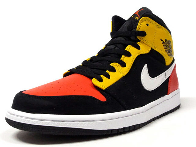 "JORDAN BRAND AIR JORDAN 1 MID SE ""ROSWELL RAYGUNS"" ""MICHAEL JORDAN""  BLACK/TEAM ORANGE/AMALLIRO/WHITE (852542-087)"