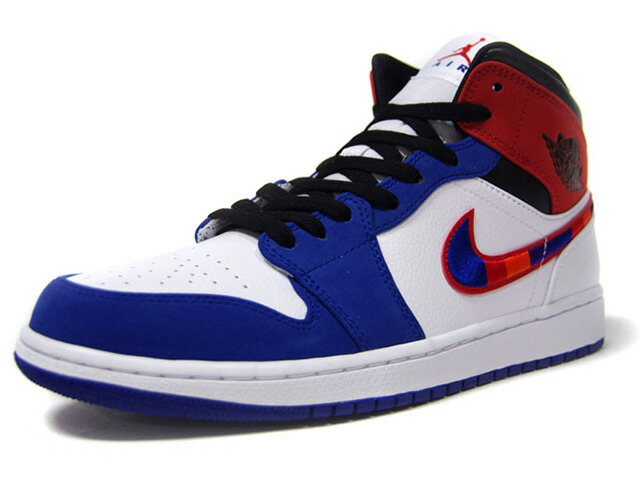 "JORDAN BRAND AIR JORDAN 1 MID SE ""MICHAEL JORDAN""  WHITE/UNIVERSITY RED/BLU/BLACK (852542-146)"