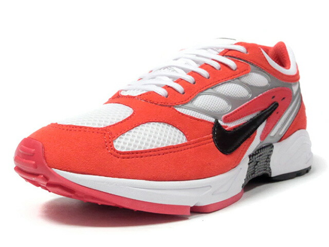 NIKE AIR GHOST RACER  HABANERO RED/BLACK/WHITE/METALIC SILVER/HABANERO RED (AT5410-601)