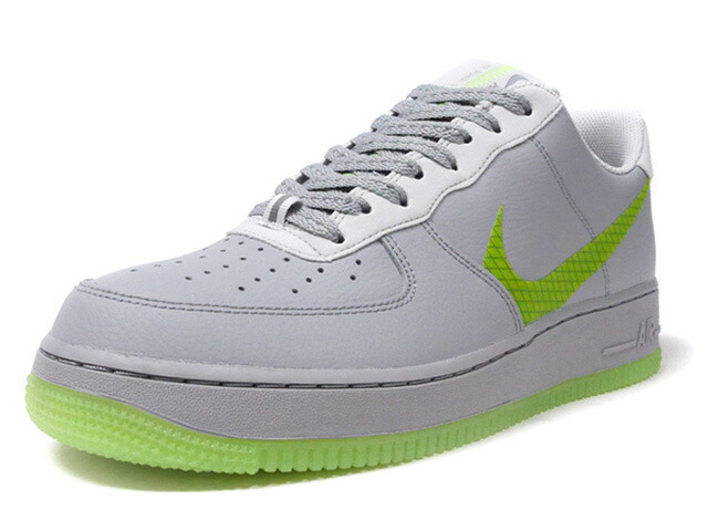 NIKE AIR FORCE 1 '07 LV8 3  WOLF GREY/GREEN/BLACK (CD0888-002)
