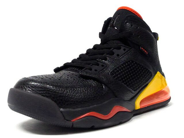 "JORDAN BRAND JORDAN MARS 270 ""ROSWELL RAYGUNS"" ""MICHAEL JORDAN""  BLACK/BLACK/TEAM ORANGE/AMARILLO (CD7070-009)"