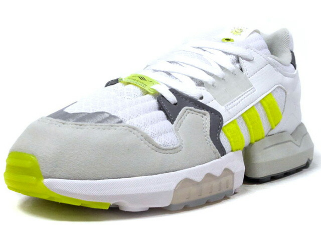"adidas ZX TORSION ""FOOTPATROL"" ""LIMITED EDITION for CONSORTIUM""  WHT/C.GRY/L.GRY/N.YEL (EF7681)"