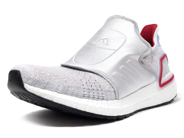 "adidas ULTRABOOST 19 ""DOE"" ""LIMITED EDITION for CONSORTIUM""  GRY/SLV/RED/SAX (EG6646)"
