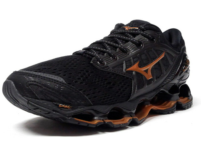 MIZUNO WAVE PROPHECY 9  BLK/GLD (J1GC200051)