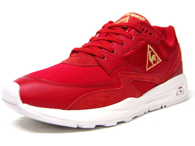 "le coq sportif LCS R 800 ""CHINESE NEW YEAR""  RED/GLD/WHT (QL1PGC09RD)"