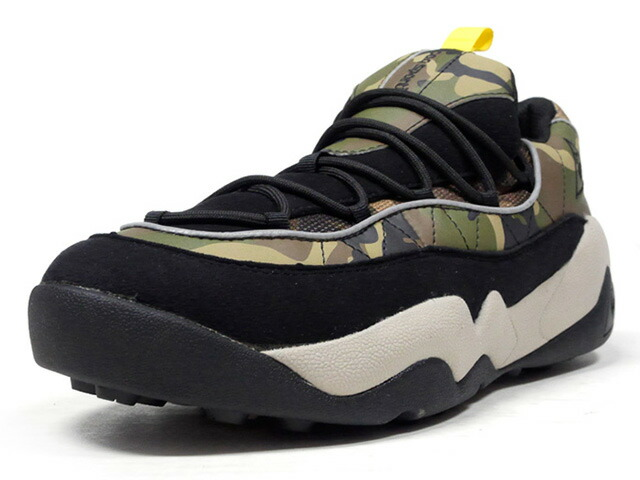"le coq sportif LCS TR CAMO ""CAMOUFLAGE PACK"" ""LIMITED EDITION for better+""  BLK/CAMO/BGE/YEL (QL2OJC98FC)"