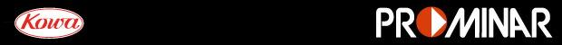 Kowa PROMINAR望遠レンズロゴ