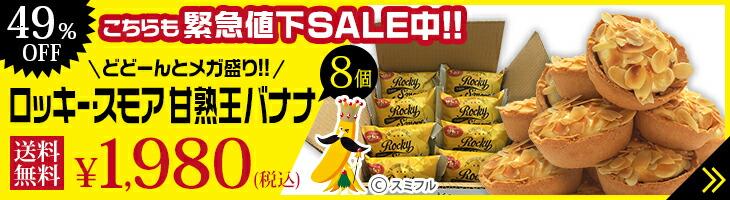 ロッキー・スモア甘熟王バナナ