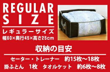 竹炭収納箱/レギュラーサイズ