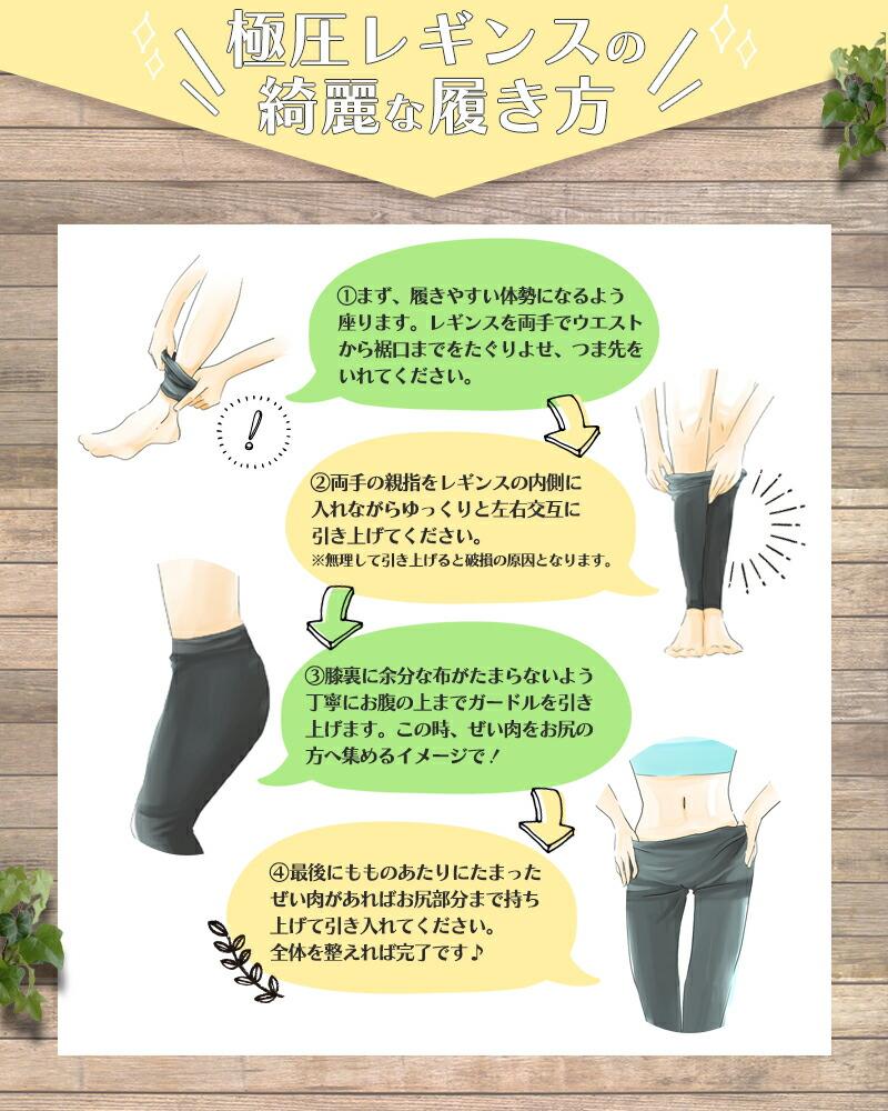 極圧レギンス/履き方