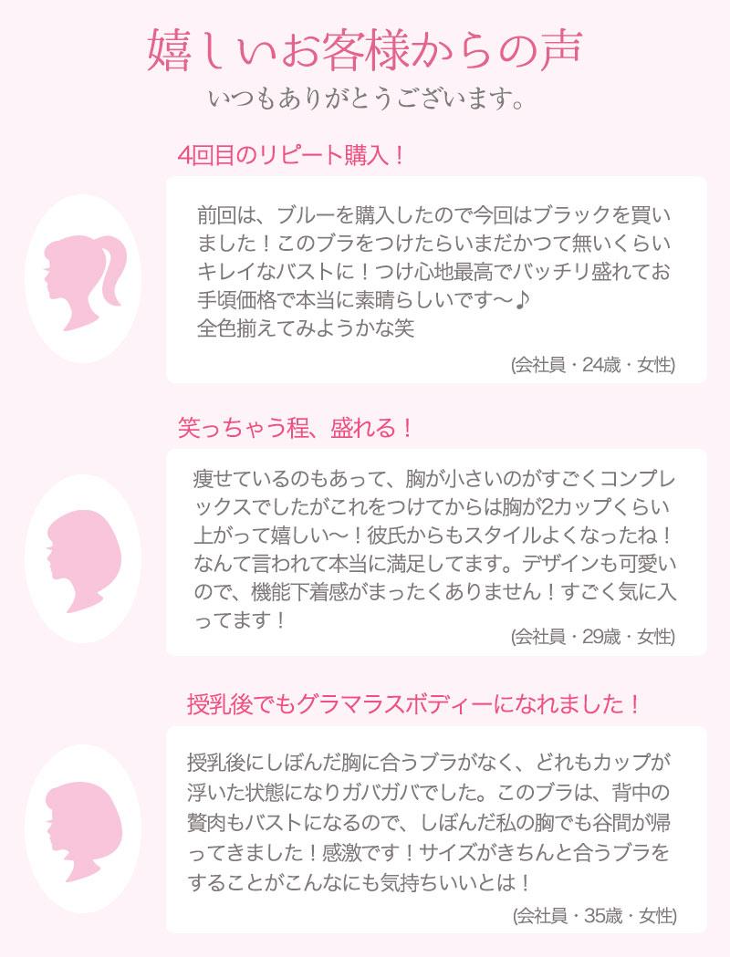 ナイトブラ/大人の盛りブラ/レビュー