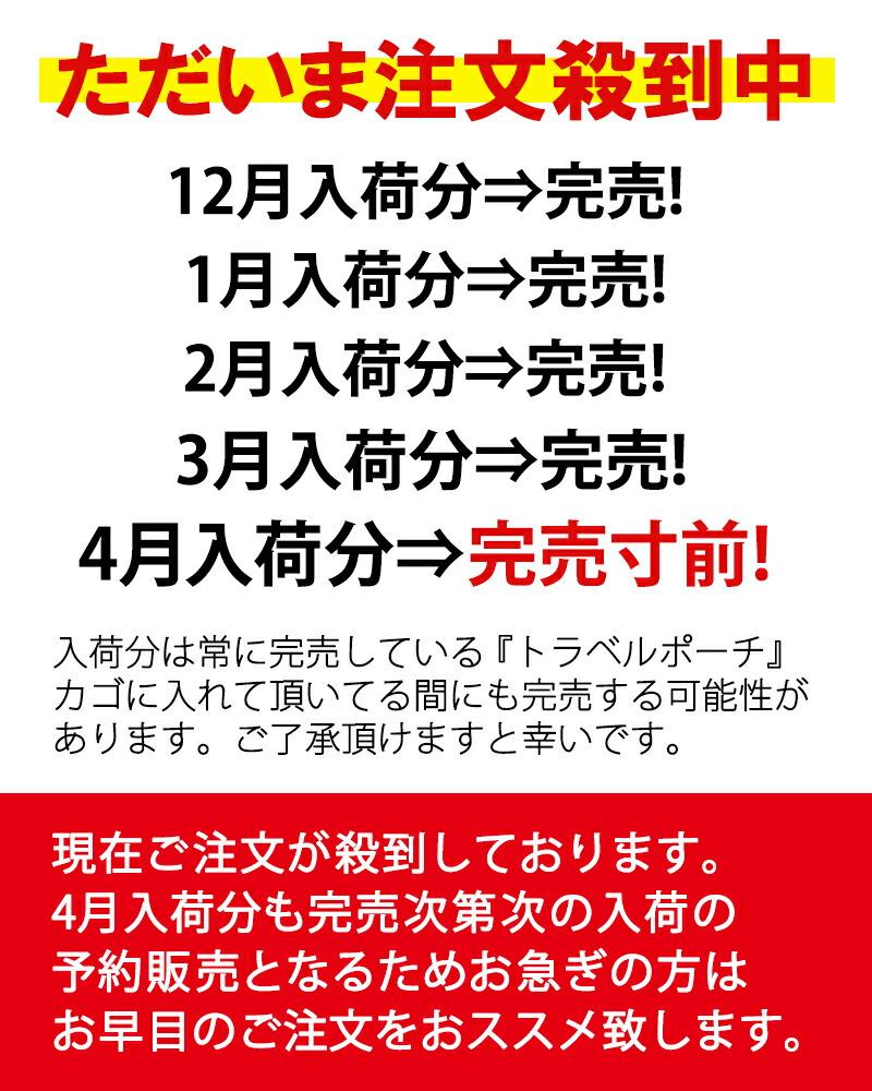 商品カテゴリ/雑貨/トラベルポーチ/完売実績