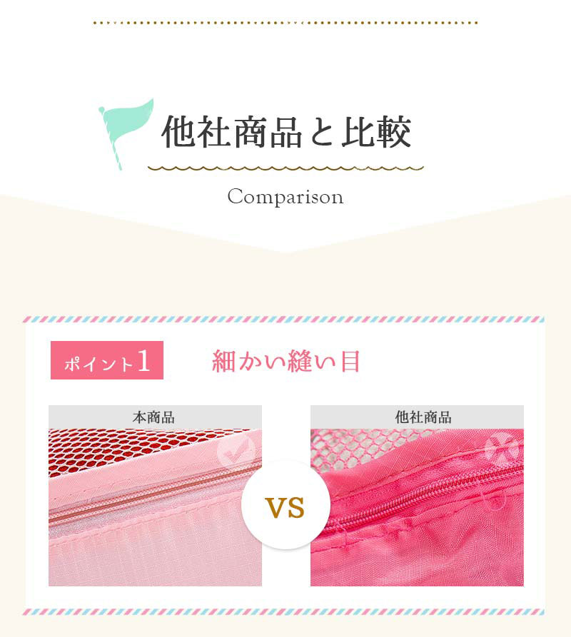 商品カテゴリ/雑貨/トラベルポーチ/比較1
