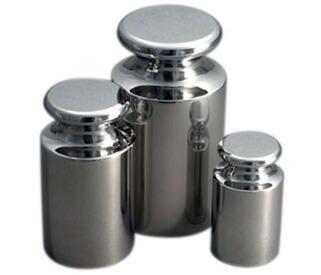 ステンレス製OIML型円筒分銅