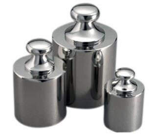 ステンレス製基準分銅型円筒分銅