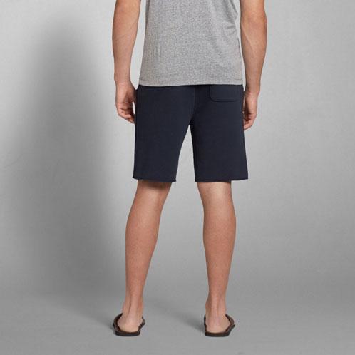 アバクロ Abercrombie&Fitch 正規品 メンズ スウェットハーフパンツ A&F Fleece Classic Fit Shorts 135-815-0082-023